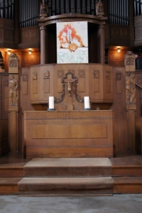 """Ausstellung Erik Weiser """"Das Neue Testament"""" in der Philippus Kirche Leipzig"""