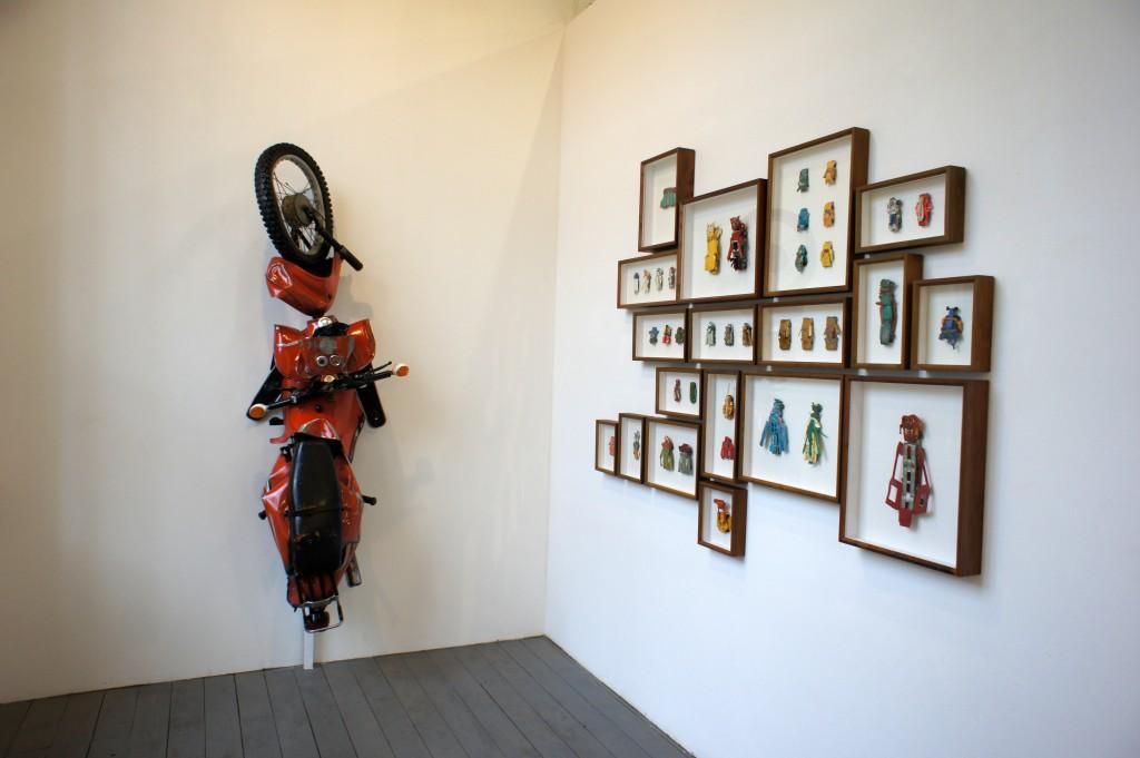 Erik Weiser Galerie Queen Anne; Leipzig; Nachbilder, Gruppenausstellung